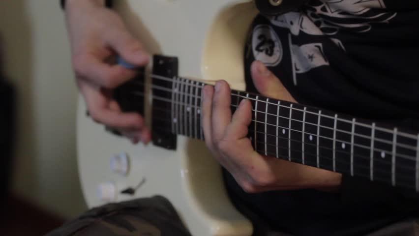 Guitare pour Guitariste Musicien Fans Concert Rock Sweatshirt Homme