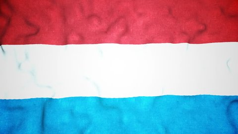 A seamless video loop of the Luxembourger flag waving. A great national icon, the flag of Luxembourg in full glory. You can repeat this video loop endlessly.