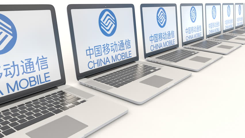 Modern Laptops with China Mobile Stock Footage Video (100% Royalty-free)  24502310 | Shutterstock