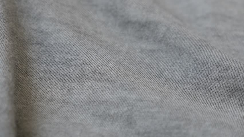 bed sheets texture. Panning On High Quality Shiny Gray Modern Fabric 4K 2160p 30fps UltraHD Footage - Fine Silky Bed Sheets Texture