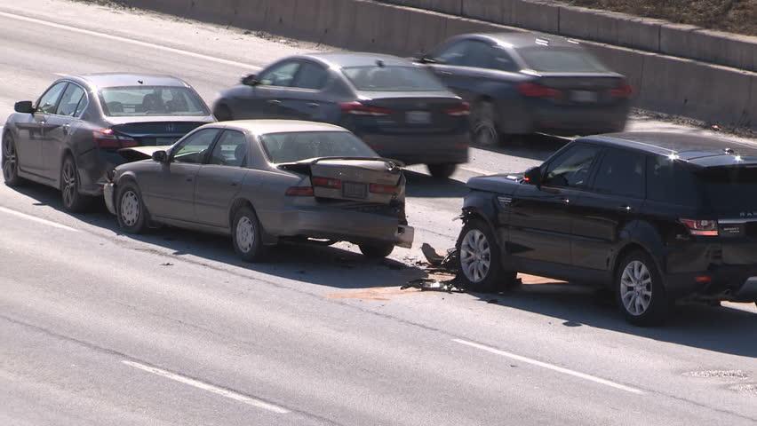 Road Accident. Car Crash. Broken Car Royalty-free Stock Video ...