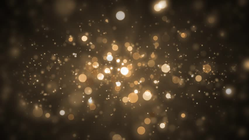 stock video of background gold movement  universe golden