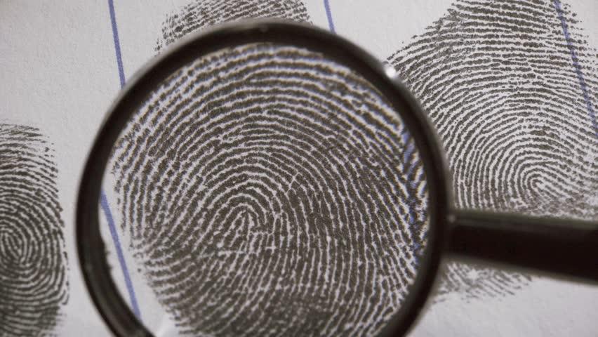 Dactyloscopic Investigate Fingerprints  Macro Shot  Stock Footage Video  (100% Royalty-free) 24698840 | Shutterstock