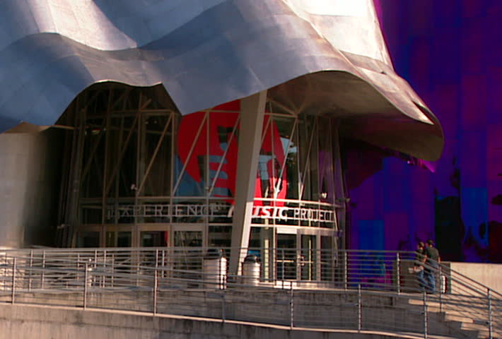 Previously Known As The Experience Music Project And Includes The Science  Fiction Museum And Hall Of Fame. Stock Footage Video 2472530   Shutterstock