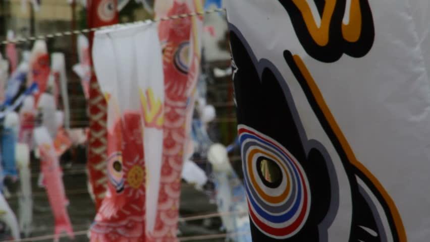 Japanese Koinobori Windsock Festival