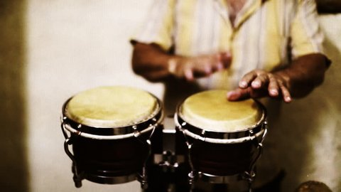 the cuban band eco caribe filmed performing in havana. all band members are model released.