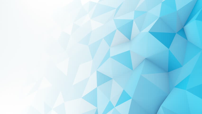 Blue white gradient polygonal surface. Computer generated seamless loop abstract motion background. Smooth 3D animation 4k UHD (3840x2160) | Shutterstock HD Video #24858791