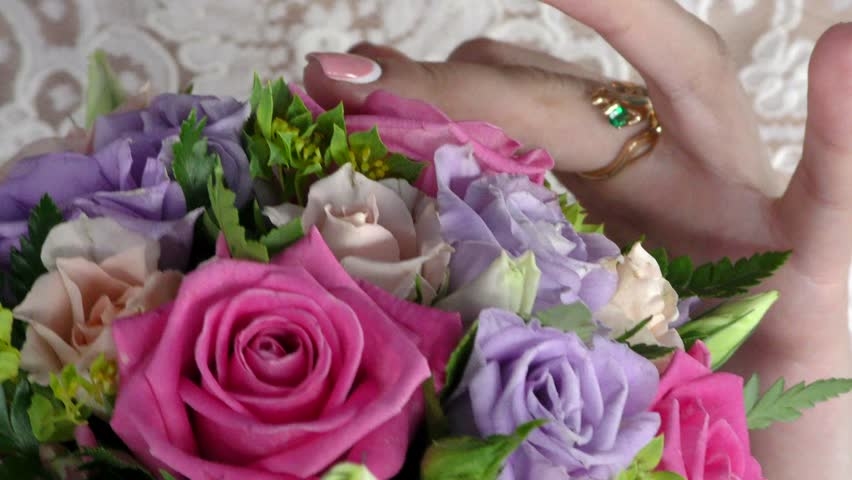 Stock video of wedding bouquet on bed | 1866118 | Shutterstock