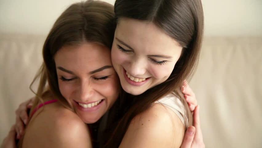 each Teen other kissing girls