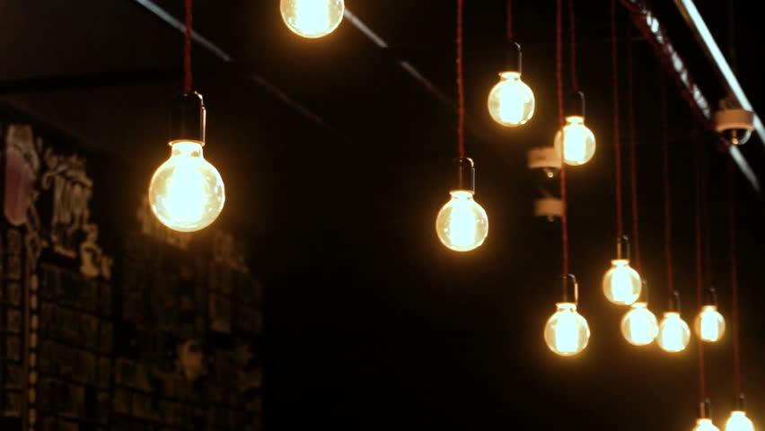 Interior Design Decorative Lighting Fluorescent Lights In The Cinema HD