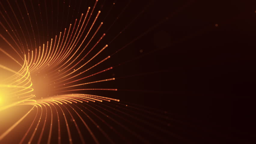 Abstract background with animation moving of lines for fiber optic network. Magic flickering dots or glowing flying lines. Animation of seamless loop. | Shutterstock HD Video #25151990