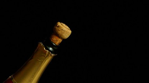 Champagne, close-up.