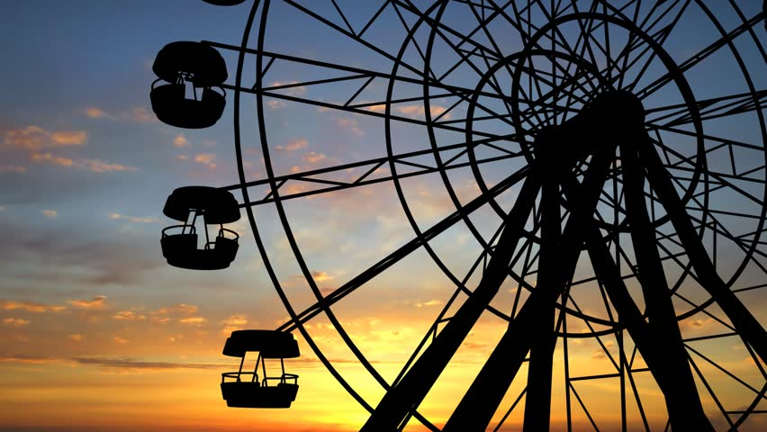 Ferris Wheel Full Hd video
