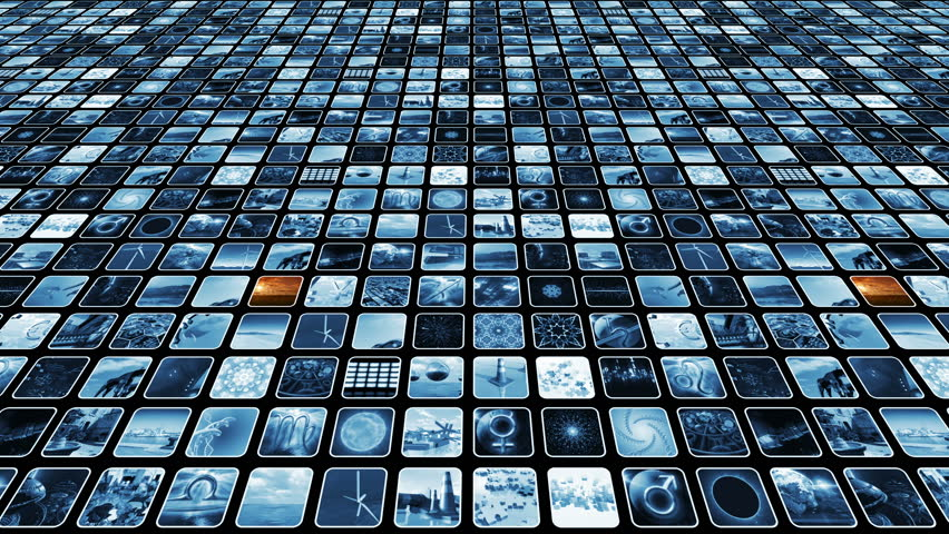 Animated Video Wall with Many Stock Footage Video (100% Royalty-free)  25279850   Shutterstock