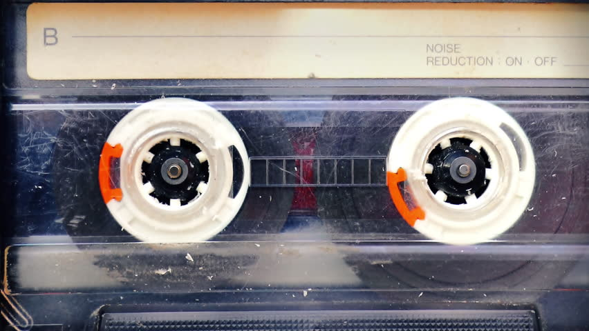 Vintage cassette tape player closeup loop | Shutterstock HD Video #25333550