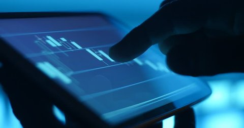 Stock and bond security online Internet mobile trading