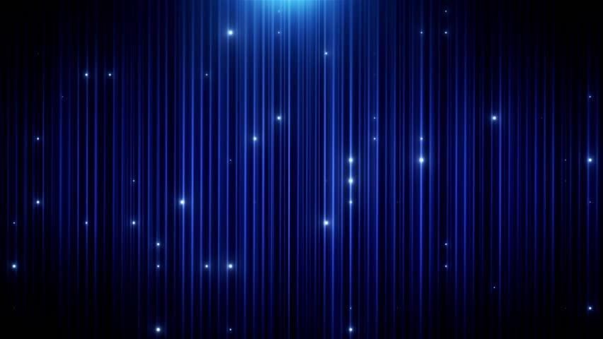 Blue glitter led animated VJ background