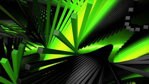 Kinetic Helix 30 Vj Loops Stock Footage Video (100% Royalty