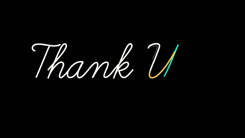 Thank You Background Stock Footage Video | Shutterstock