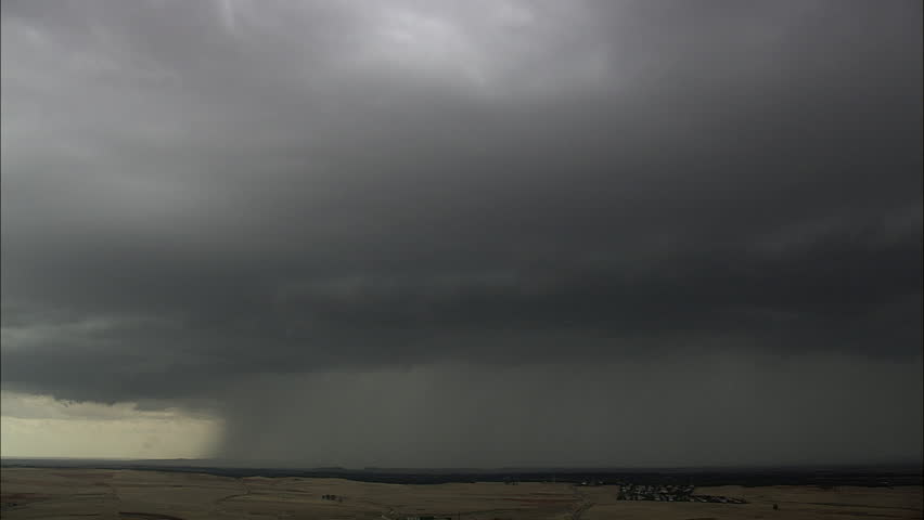 Getting Close To A Dense Thunderstorm Spain, Miranda de Azan, Salamanca-2007