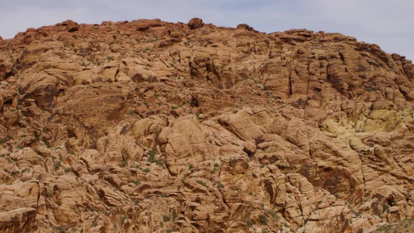 Mojave Desert Red Rocks | Shutterstock HD Video #25716950