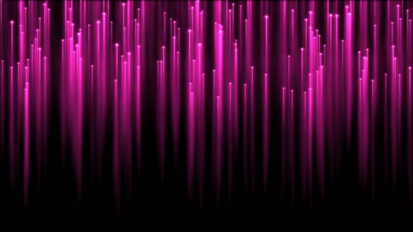 Rising Particle Beams Background Animation -  Pink #25727930