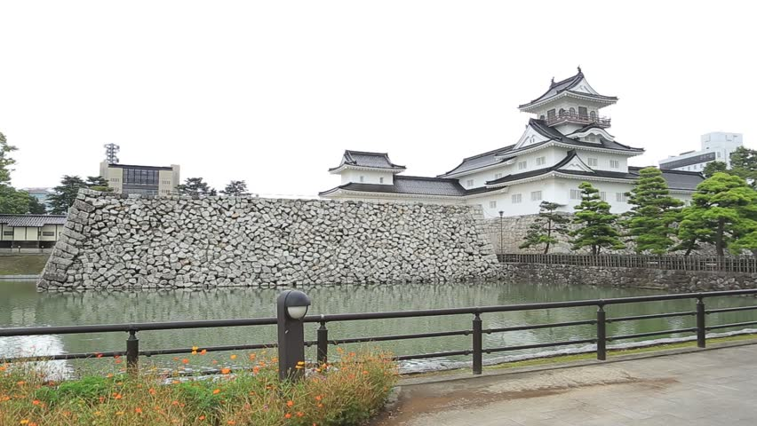 japanese traditional castle toyama japan 6th sep 2016 hd stock video clip - Traditional Castle 2016