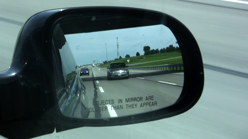 Objects In Mirror May Be Closer Than >> Hd00 15objects In Mirror May Be Closer Than They Appear Driving