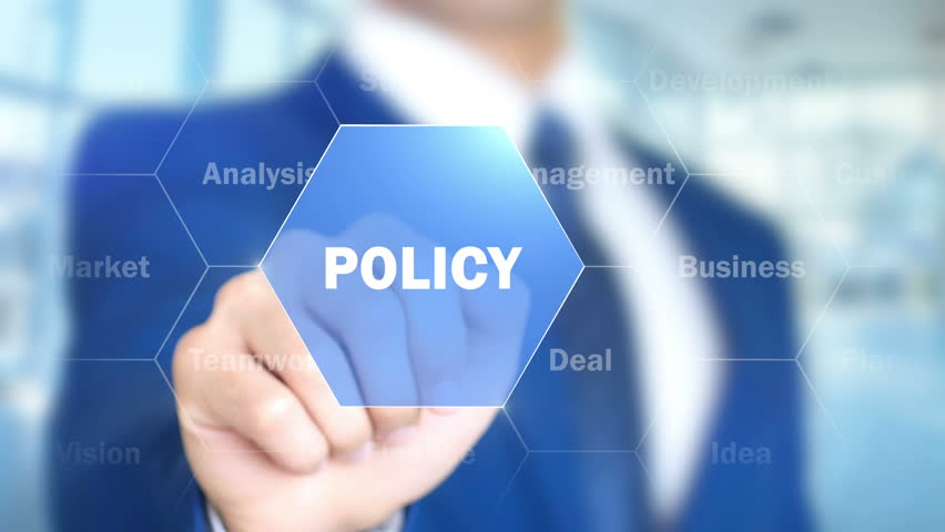 Header of policy