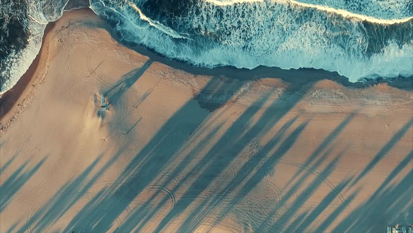 Above the ocean (Venice beach) | Shutterstock HD Video #25801799