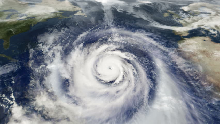 Hurricane Weather Satellite Aerial View Stock Footage Video (100%  Royalty-free) 25911530 | Shutterstock