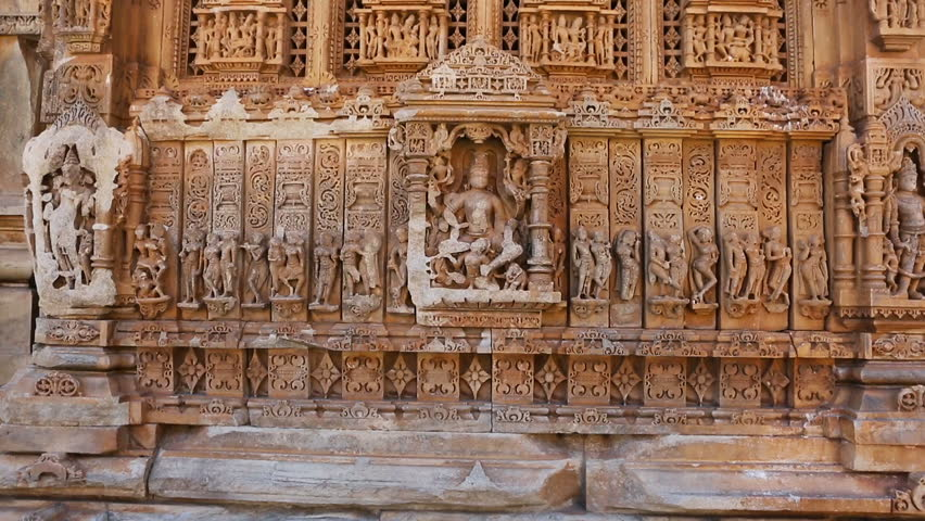 Group Sex Figures In Kama Sutra Temples In India Stock -2162