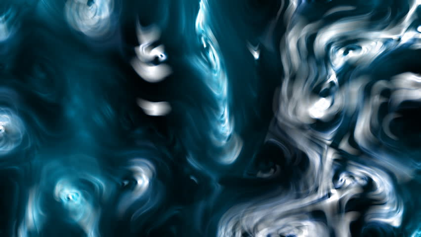 Cool Extraordinary And Unknown Fluid Material Distorted Surface's Soft Motions And Dissolutions Within Mysterious Abstract