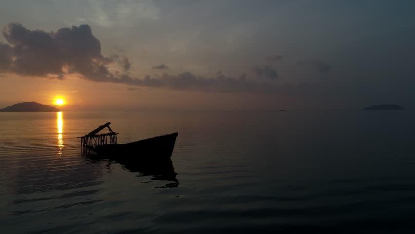 Boat sailing, motor boat in beautiful sea | Shutterstock HD Video #26052566