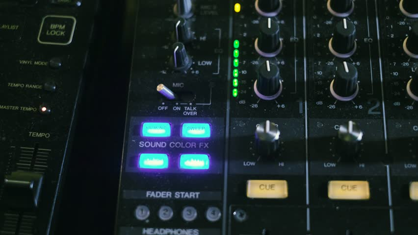 Mixing Console also Called Audio Stock Footage Video (100% Royalty-free)  26121860 | Shutterstock