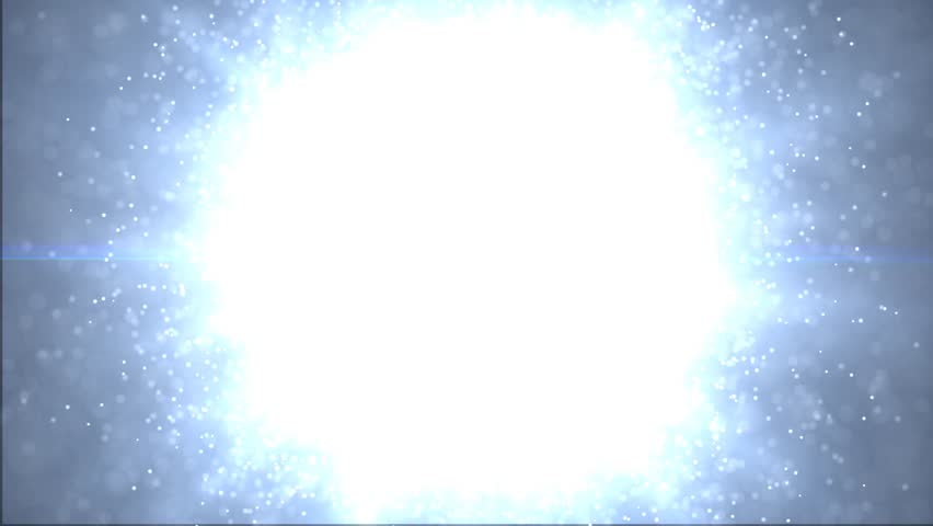 A large number of particles. Disintegrate particles