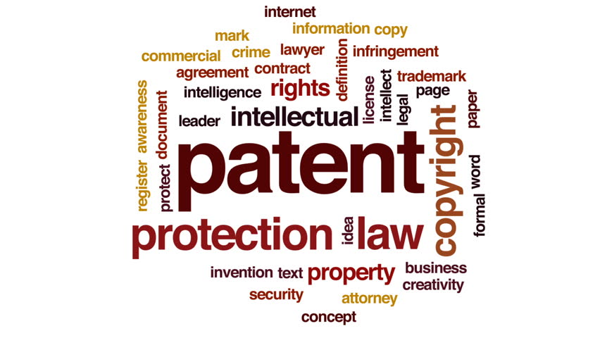Stock Video Of Patent Animated Word Cloud Text Design 26386910