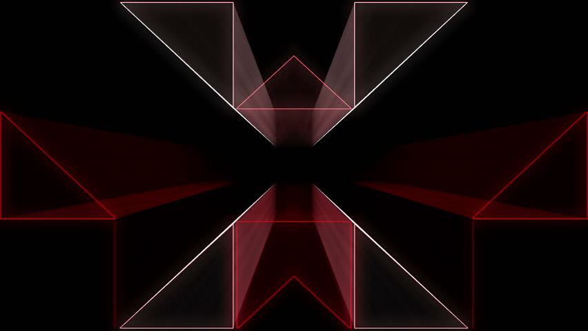 Red tunnel Abstract Vj Loop  | Shutterstock HD Video #26396690