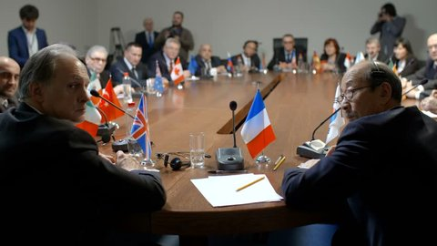 Participation of France in international economic forum or summit