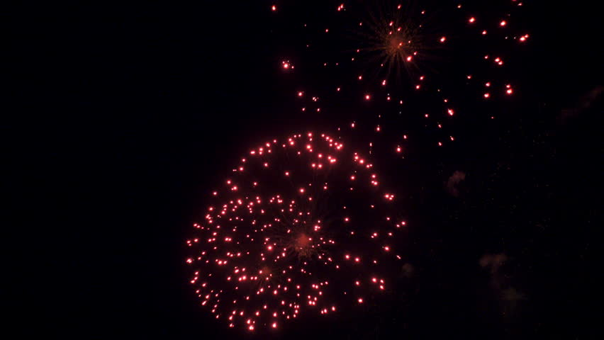 Colourful fireworks in the sky | Shutterstock HD Video #26544950