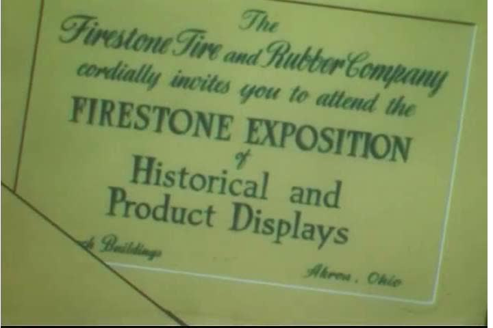 Stock video of 1950s at the 50th anniversary celebration 26595440 sd01171950s at the 50th anniversary celebration of the firestone tire company an exposition shows early types of tires and early tire making machinery in stopboris Choice Image