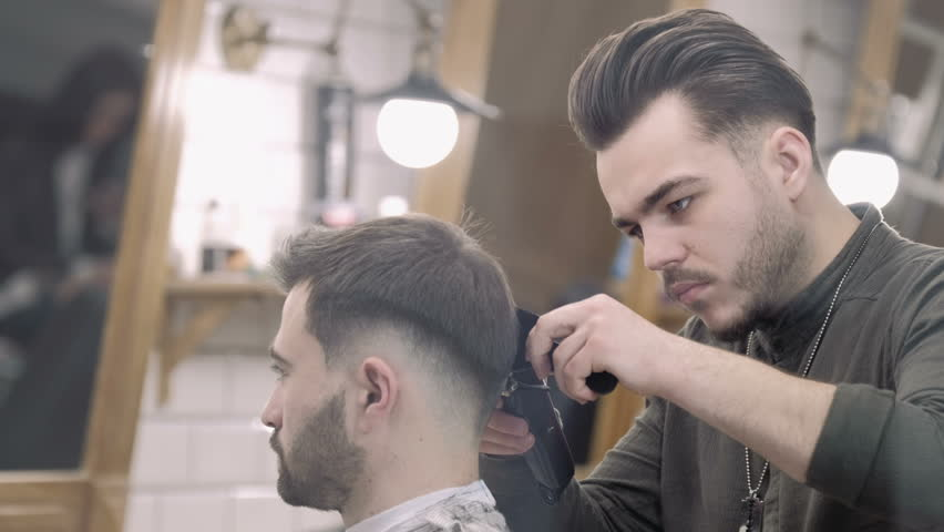 Mens Hair Cutting Scissors in Stock Footage Video (100% Royalty,free)  26609570