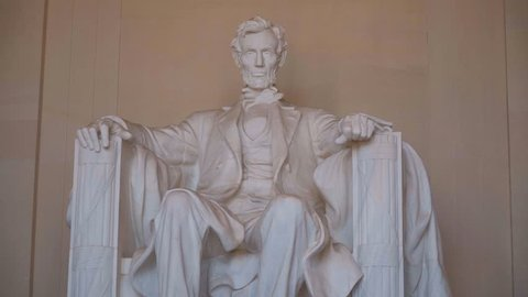 Abraham Lincoln Memorial in Washington DC