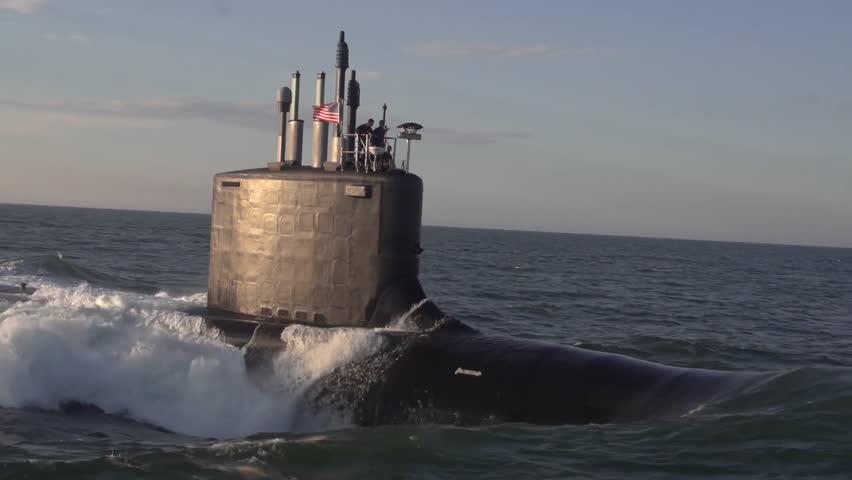 The newest virginia class submarine minnesota ssn | Shutterstock HD Video #26785672
