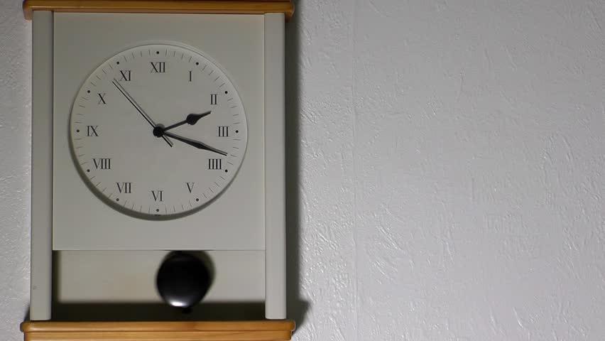 Clock on the Wall   Shutterstock HD Video #26835190