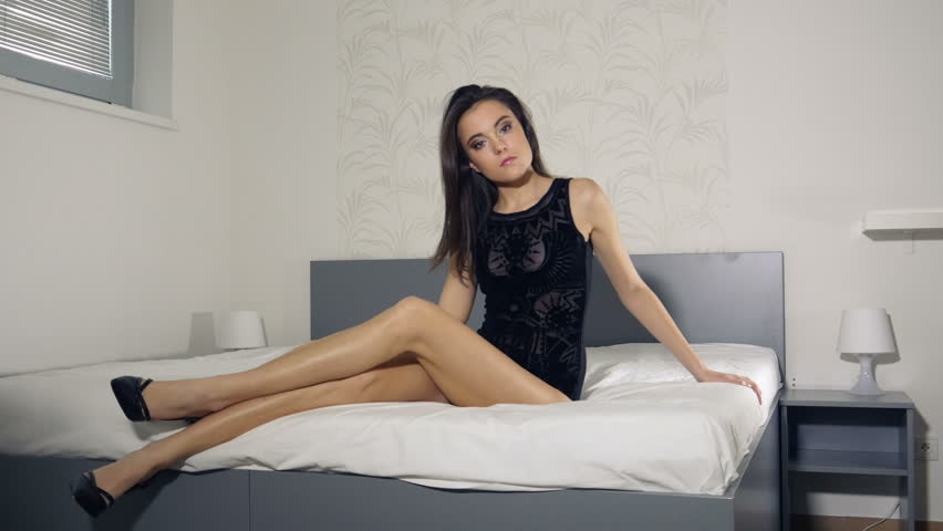 sexy legs girls in bed train