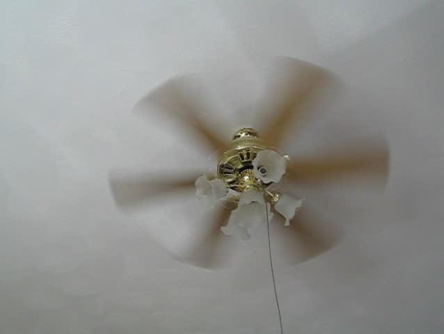 Stock video clip of spinning ceiling fan shutterstock aloadofball Gallery