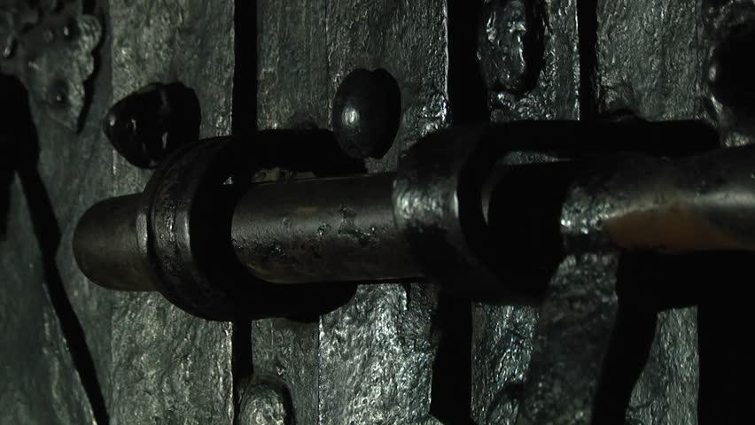 Staple door bolt. A hasp and staple door bolt. A hasp bolt. Open & A Hasp And Staple Door Bolt. Staple Door Bolt. A Hasp Bolt. Open ...