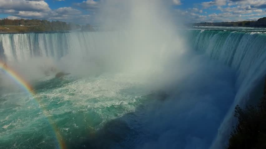 Majestic Niagara Falls - Natural Wonder Of The World -  Canadian Side