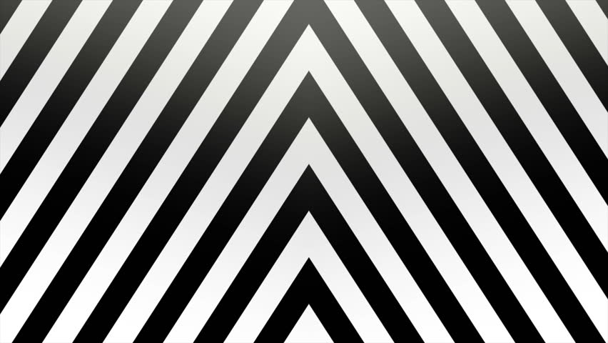 Abstract CGI motion graphics and animated background with moving black and white angle